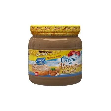 Crema de Almendra con piel 500 gr Nutrytec Gourmet