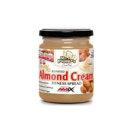 Roasted Almond Cream 250 gr - Amix Nutrition