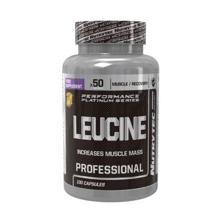 Leucine 100 caps - Nutrytec