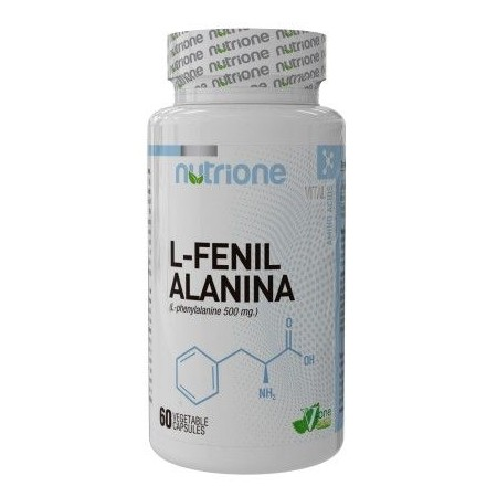 L-Phenylalanine 60 capsules - Amino Nutrione