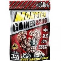 Monster Gainer 3Kg - VitoBest Carbohidrato