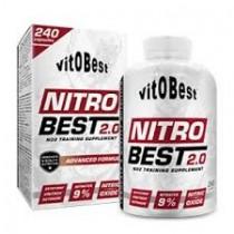 Nitrobest 120 cápsulas - Vitobest Óxido Nítrico