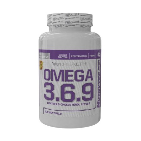 Omega 3-6-9 100 Pearls - Nutrytec