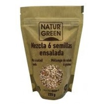 NaturGreen Mezcla 6 Semillas Ensalada Bio 225 g