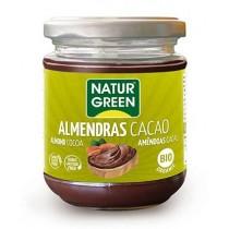 Crema Almendras Cacao Bio 200 G - NaturGreen
