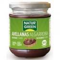 NaturGreen Crema Avellanas Algarroba Bio 200g