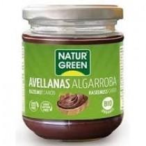Crema Avellanas Algarroba Bio 200g NaturGreen