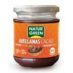 Crema Avellanas Cacao  Bio 200g NaturGreen