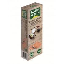 Ecogalletas 5 Cereales Baño Chocolate Blanco Bio 190 g NaturGreen