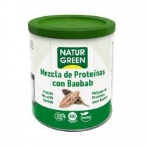 NaturGreen Mezcla Proteína con Baobab Bio 250 G