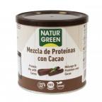 NaturGreen Mezcla Proteína con Cacao Bio 250 G