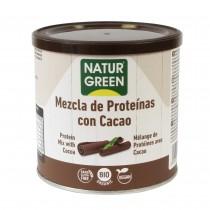 Mezcla Proteína con Cacao Bio 250 G  - NaturGreen