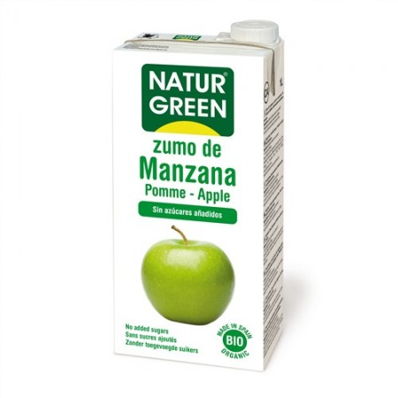 Zumo Apple/Manzana Bio 1 L - NaturGreen