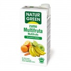 Zumo Multifrutas Bio 1 L NaturGreen