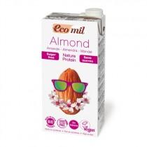 EcoMil Almond Nature Protein Bio 1L