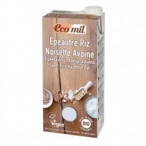 EcoMil Espelta Arroz Avellana Avena  Bio 1L