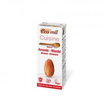 EcoMil Cuisine Almond Nature Bio 200 ml NaturGreen