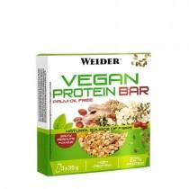 Barritas Vegan Protein - 3x35g - Weider CAD: 31-10-2018