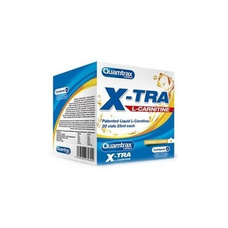 Xtra L-Carnitine 20 Vials Quamtrax Nutrition