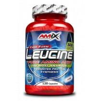 L - Leucine  Pure 120 Capsulas - Amix Leucina Pura