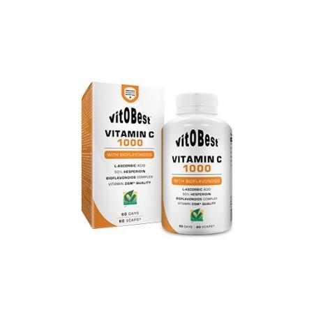 Vitamina C-1000 Con Bioflavonoides 60 Caps - VitOBest