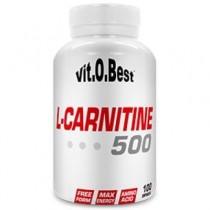 L-Carnitine 500 - 100 Caps - VitOBest