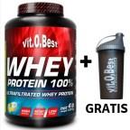 Whey Protein 100%  1.8 kg  - VitoBest Proteinas