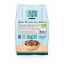 Muesli Choco Avellana Coco Sin Gluten Bio 400 G - NaturGreen
