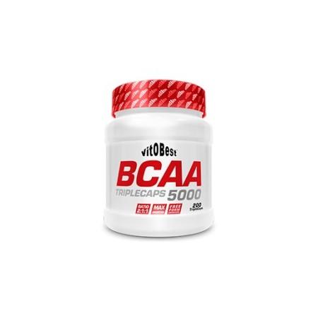 BCAA 5000 200 TripleCaps - Vitobest
