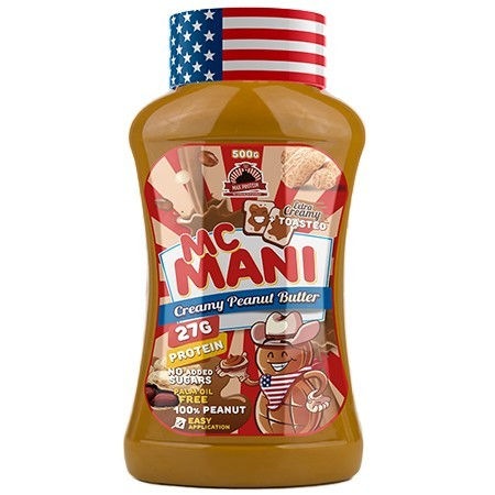 Mc Mani Peanut Butter -  500 gr Max Protein