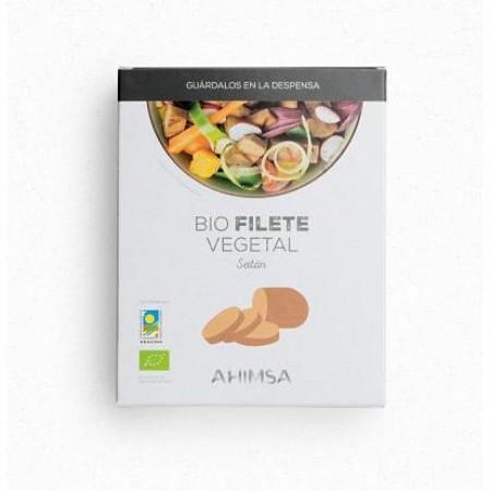 Filete Vegetal Seitán Bio 2 uds 230 Grs. - Ahimsa