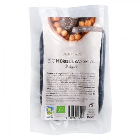 Morcilla Vegetal Bio 230 grs - Ahimsa