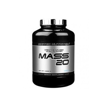 Mass 20 - 4000gr -Scitec Nutrition Voluminizador