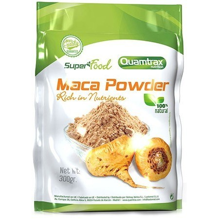 Superfood Maca Powder 300 Gr Quamtrax