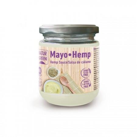 NaturGreen Mayo Hemp salsa de cáñamo 245 g
