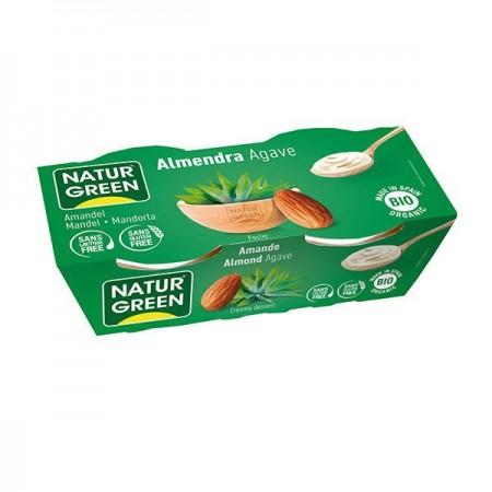 Almond Agave Bio (2x125 g) NaturGreen