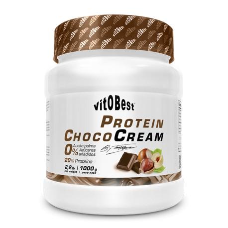 Cream Protein Choco 1 Kg Crema Protéica de Chocolate - Vitobest