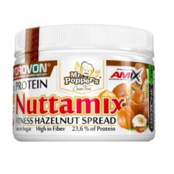 Nuttamix 250 gr Crema Avellanas y Cacao - Amix Mr. Poppers