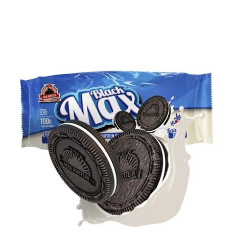 BlackMax 1 paq x 6 galletas 100 gr.  - Max Protein