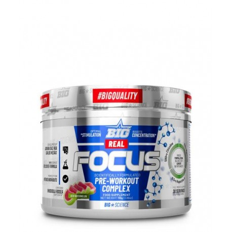Real Focus 110 gr con Cafeína Pre-entreno- BigScience