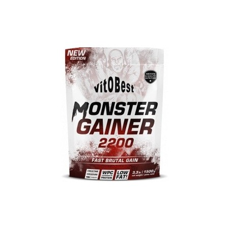 Monster Gainer Fresa 1.5kg - VitoBest CAD: 31-03-2021