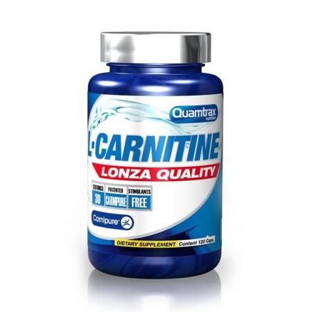 L-Carnitine Lonza Quality 120 Caps Quamtrax CAD: 30-06-2021