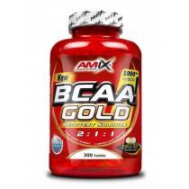 BCAA Gold 2:1:1  300 Tabletas - Amix