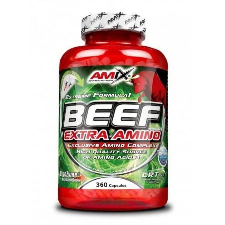Beef Extra Amino 360 Capsulas - Amix