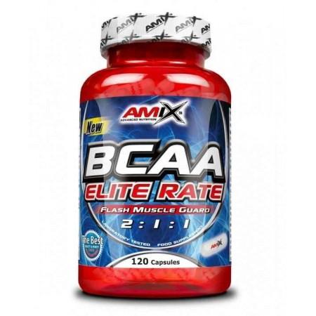 BCAA Elite Rate 120 Capsulas - Amix