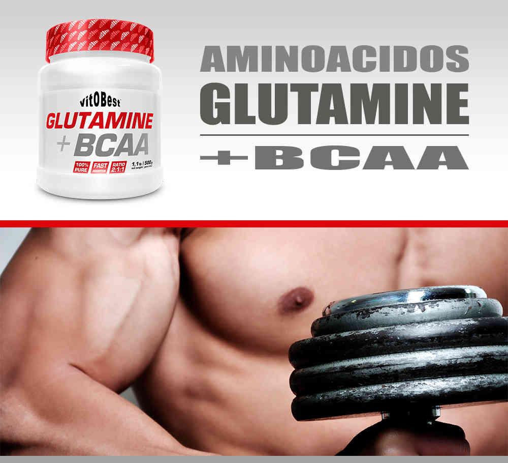 Comprar glutamina con BCAA