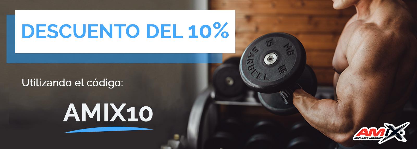 Descuentos del 10% utilizando el código: AMIX10.