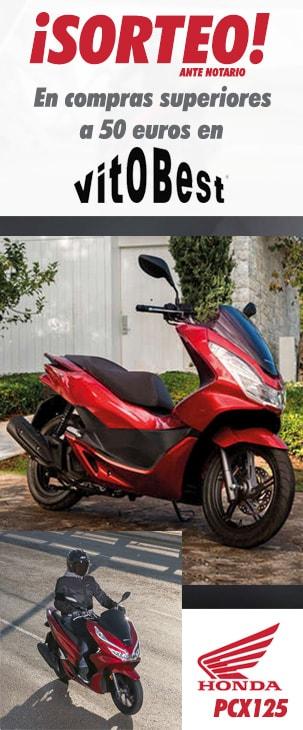 Sorteo de Honda PCX125 comprando Vitobest